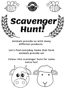 Children's Scavenger Hunt